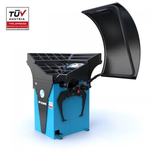 Equilibradora de Ligeiros Semi-Automatica com Display Led , 230V, 10-32'