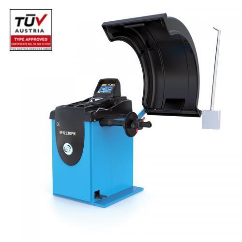 Equilibradora de Ligeiros Full Automatica com Display LCD , 230V, 10-32'