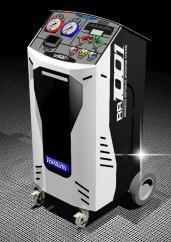 Maquina Operacional Dupla para AC AUTO - Ligeiros, Pesados com Dep.2x12Kg, Bomba 84Lt, Comp. 12Cc especial para HFO 1234YF e R134A