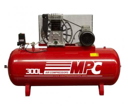Compressor de pistão 5.5HP 270L 10BAR 550L/Min