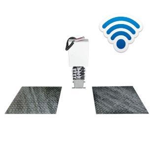 Detector de Folgas Hidraulico Ligeiros Embutido Wireless