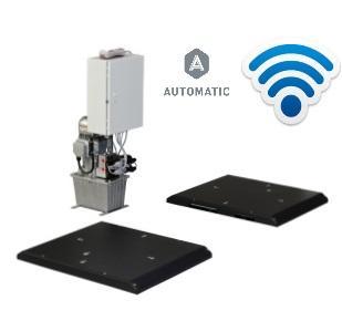 Detector de Folgas Hidraulico Ligeiros Sobre o Solo Wireless Automatico