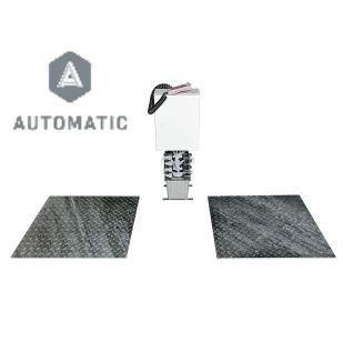 Detector de Folgas Hidraulico Ligeiros Embutido Automatico