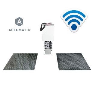Detector de Folgas Hidraulico Ligeiros Embutido Automatico Wireless