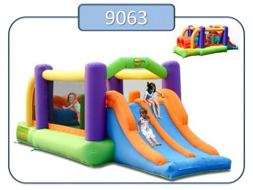 9063 - Insuflavel Obstacle Course Bouncer