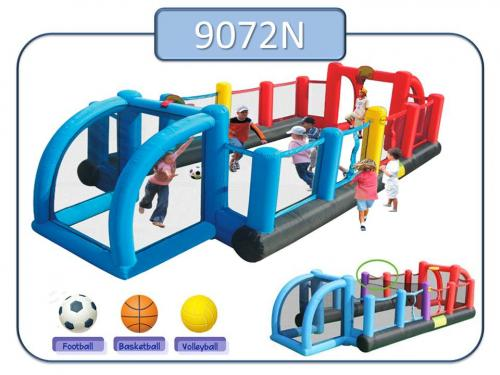 9072 - Insuflavel Inflatable Soccer Field