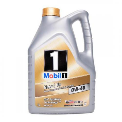 MOBIL 1 NEW LIFE 0W40 5 Ltr