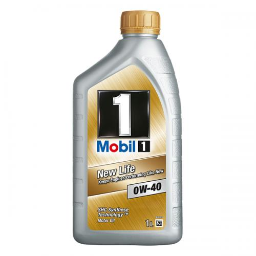 MOBIL 1 NEW LIFE 0W40 1 Ltr