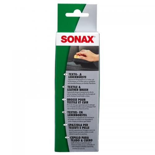 SONAX Escova para Limpeza de Pele e Tecido