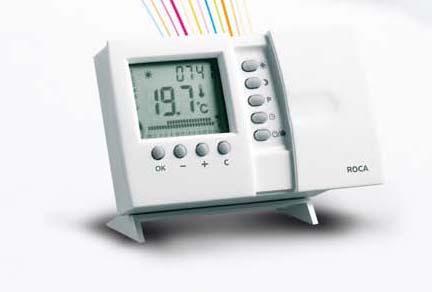 Termóstato ambiente programável sem Fios RX200