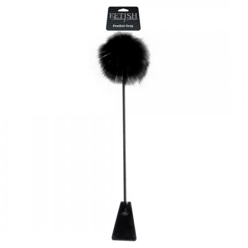 Chibata Com Pluma Black Feather Crop