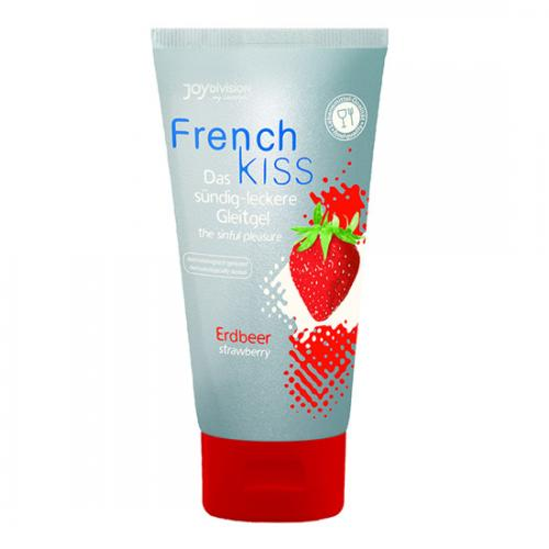 Gel Para Sexo Oral French Kiss Morango 75 ml