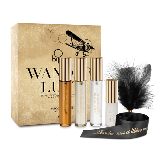 Coffret Viagem Wanderlust Cosmetic and Accesories Dark Chocolate