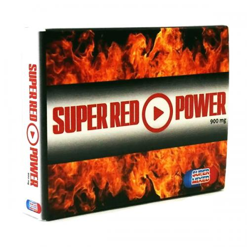 Super Red Power 2 Comprimidos