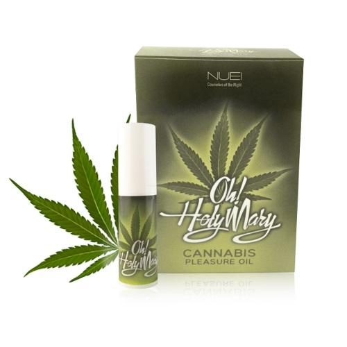 Estimulante Unisexo Oh! Holy Mary - Cannabis Pleasure Oil 6 ml