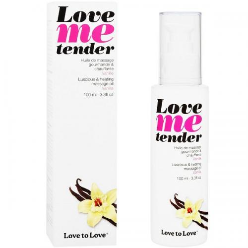Óleo de Massagem Efeito Calor Love Me Tender Baunilha 100 ml