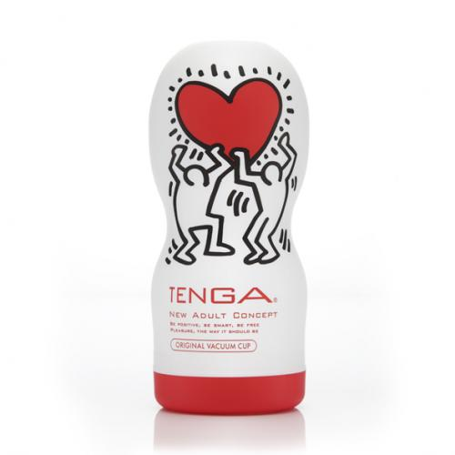 Masturbador Tenga Deep Throat Cup by Keith Haring