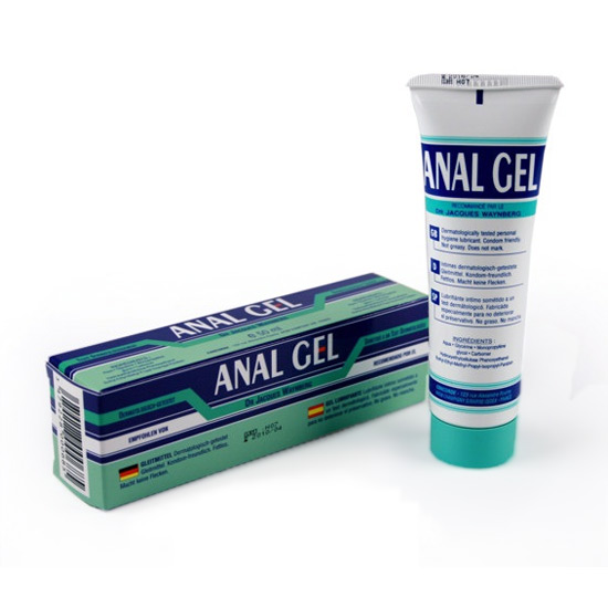 Gel Lubrificante Anal Gel 50 ml