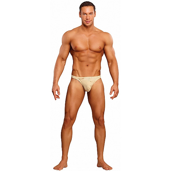 Tanga Male Power Sock Family Jewels Beje